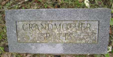 SPOTTS, GRANDMOTHER - Sharp County, Arkansas | GRANDMOTHER SPOTTS - Arkansas Gravestone Photos