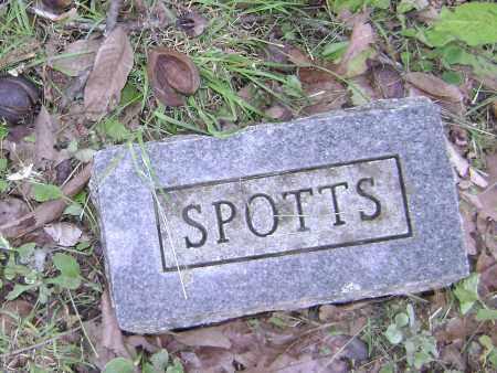 SPOTTS, UNKNOWN - Sharp County, Arkansas | UNKNOWN SPOTTS - Arkansas Gravestone Photos
