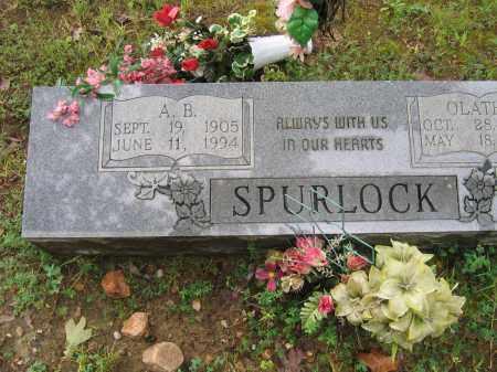 SPURLOCK, AARON BERNICE - Sharp County, Arkansas | AARON BERNICE SPURLOCK - Arkansas Gravestone Photos