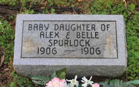 SPURLOCK, INFANT DAUGHTER - Sharp County, Arkansas | INFANT DAUGHTER SPURLOCK - Arkansas Gravestone Photos