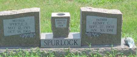 SPURLOCK, MYRTLE E. - Sharp County, Arkansas | MYRTLE E. SPURLOCK - Arkansas Gravestone Photos