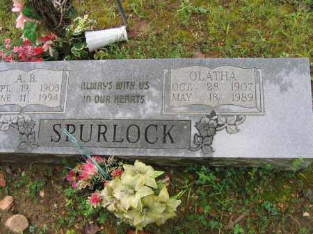SPURLOCK, OLATHA - Sharp County, Arkansas | OLATHA SPURLOCK - Arkansas Gravestone Photos