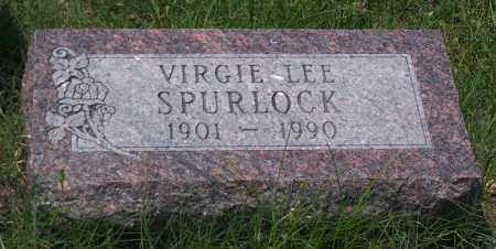 SPURLOCK, VIRGIE LEE - Sharp County, Arkansas | VIRGIE LEE SPURLOCK - Arkansas Gravestone Photos