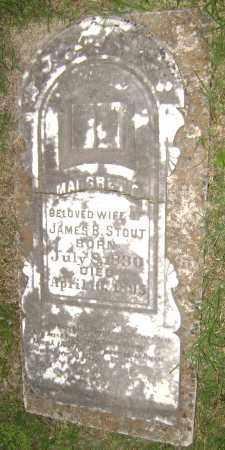 STOUT, MARGARET V - Sharp County, Arkansas | MARGARET V STOUT - Arkansas Gravestone Photos