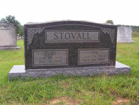 STOVALL, IVA - Sharp County, Arkansas | IVA STOVALL - Arkansas Gravestone Photos