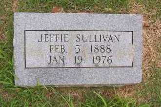 SULLIVAN, JEFFIE - Sharp County, Arkansas | JEFFIE SULLIVAN - Arkansas Gravestone Photos