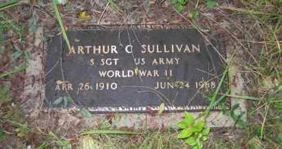 SULLIVAN (VETERAN WWII), ARTHUR CARMACK - Sharp County, Arkansas | ARTHUR CARMACK SULLIVAN (VETERAN WWII) - Arkansas Gravestone Photos