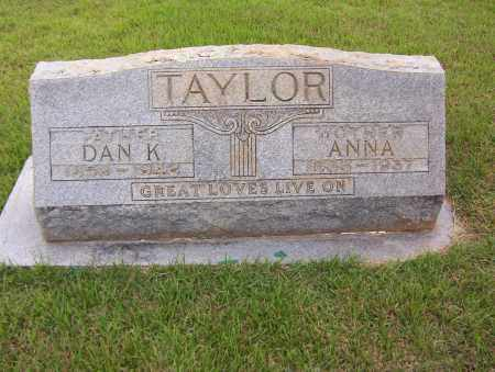 TAYLOR, DAN K. - Sharp County, Arkansas | DAN K. TAYLOR - Arkansas Gravestone Photos