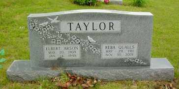QUALLS TAYLOR, REBA L - Sharp County, Arkansas | REBA L QUALLS TAYLOR - Arkansas Gravestone Photos