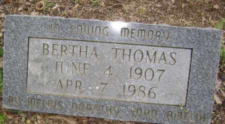 THOMAS, BERTHA - Sharp County, Arkansas | BERTHA THOMAS - Arkansas Gravestone Photos