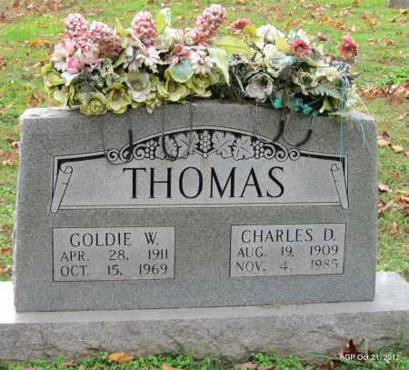 THOMAS, CHARLES DAVIDSON - Sharp County, Arkansas | CHARLES DAVIDSON THOMAS - Arkansas Gravestone Photos