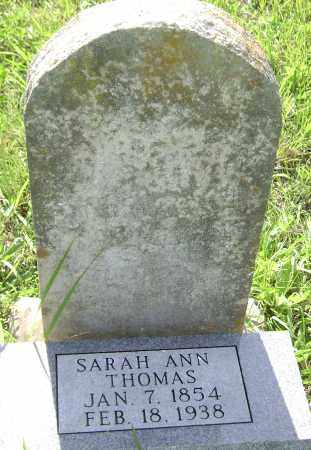 THOMAS, SARAH ANN - Sharp County, Arkansas | SARAH ANN THOMAS - Arkansas Gravestone Photos
