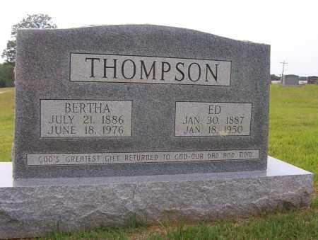 "THOMPSON, JULIUS EDGAR ""ED"" - Sharp County, Arkansas 