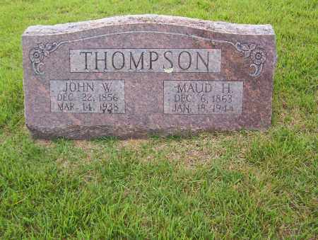 THOMPSON, MAUD H. - Sharp County, Arkansas | MAUD H. THOMPSON - Arkansas Gravestone Photos