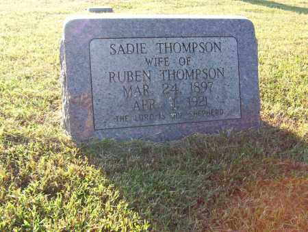 "THOMPSON, SARAH M. ""SADIE"" - Sharp County, Arkansas 