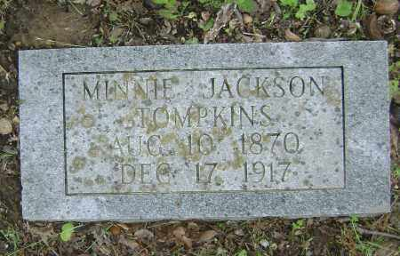 TOMPKINS, MINNIE - Sharp County, Arkansas | MINNIE TOMPKINS - Arkansas Gravestone Photos