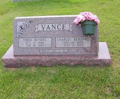 KUNKEL VANCE, EMMA - Sharp County, Arkansas | EMMA KUNKEL VANCE - Arkansas Gravestone Photos