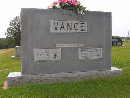 COY VANCE, JEWELL - Sharp County, Arkansas | JEWELL COY VANCE - Arkansas Gravestone Photos