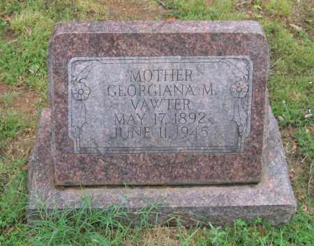 MILLER VAWTER, GEORGIANA - Sharp County, Arkansas | GEORGIANA MILLER VAWTER - Arkansas Gravestone Photos