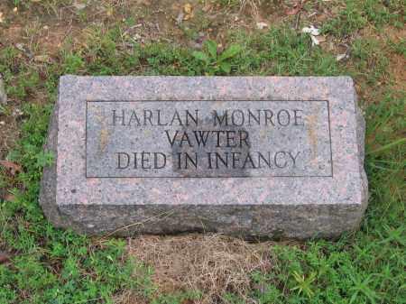 VAWTER, HARLAN MONROE - Sharp County, Arkansas | HARLAN MONROE VAWTER - Arkansas Gravestone Photos