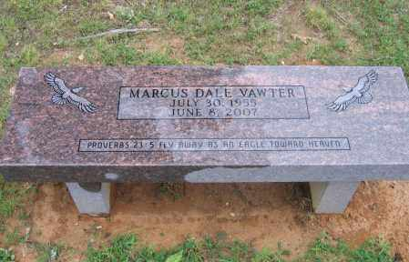 VAWTER (VETERAN), MARCUS DALE - Sharp County, Arkansas | MARCUS DALE VAWTER (VETERAN) - Arkansas Gravestone Photos