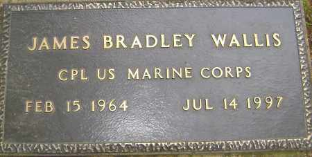 WALLIS (VETERAN), JAMES BRADLEY - Sharp County, Arkansas | JAMES BRADLEY WALLIS (VETERAN) - Arkansas Gravestone Photos