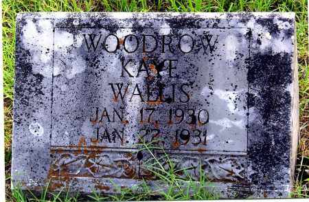 WALLIS, WOODROW KAYE - Sharp County, Arkansas | WOODROW KAYE WALLIS - Arkansas Gravestone Photos