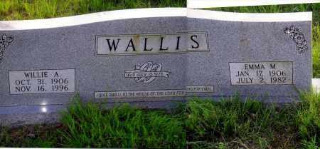 WALLIS, WILLIE A. - Sharp County, Arkansas | WILLIE A. WALLIS - Arkansas Gravestone Photos