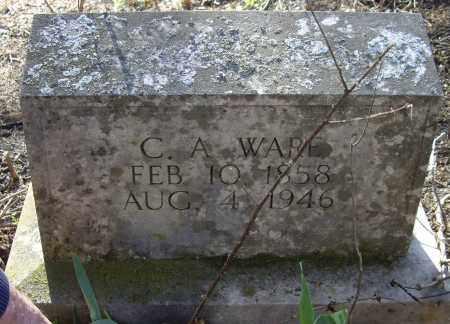 WARE, CHARLES ALFRED - Sharp County, Arkansas | CHARLES ALFRED WARE - Arkansas Gravestone Photos