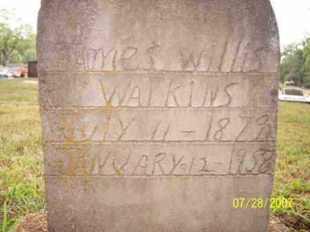 WATKINS, JAMES WILLIS - Sharp County, Arkansas | JAMES WILLIS WATKINS - Arkansas Gravestone Photos