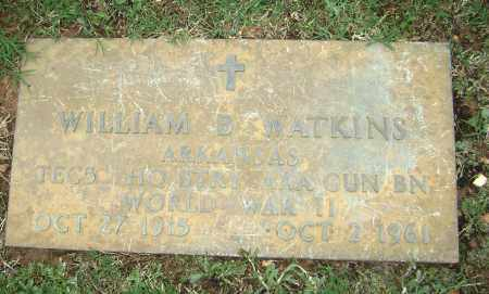 WATKINS (VETERAN WWII), WILLIAM BRYAN - Sharp County, Arkansas | WILLIAM BRYAN WATKINS (VETERAN WWII) - Arkansas Gravestone Photos