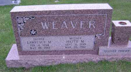 WEAVER, HATTIE M - Sharp County, Arkansas | HATTIE M WEAVER - Arkansas Gravestone Photos