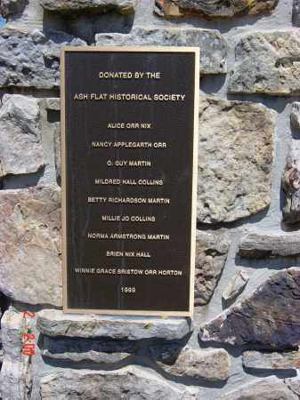 *MEMORIAL  PLAQUE,  - Sharp County, Arkansas    *MEMORIAL  PLAQUE - Arkansas Gravestone Photos