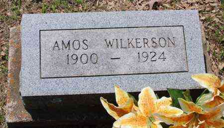 WILKERSON, AMOS - Sharp County, Arkansas | AMOS WILKERSON - Arkansas Gravestone Photos