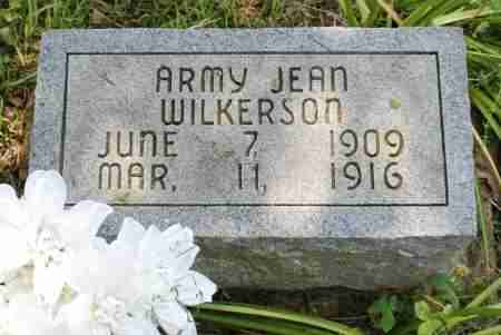 WILKERSON, ARMY JEAN - Sharp County, Arkansas | ARMY JEAN WILKERSON - Arkansas Gravestone Photos