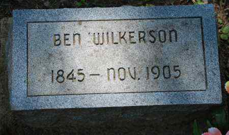 "WILKERSON, BENJAMIN W. ""BEN"" - Sharp County, Arkansas 