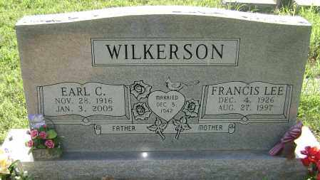 WILKERSON, FRANCIS LEE - Sharp County, Arkansas | FRANCIS LEE WILKERSON - Arkansas Gravestone Photos