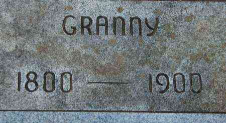 WILKERSON, GRANNY - Sharp County, Arkansas | GRANNY WILKERSON - Arkansas Gravestone Photos