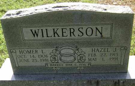 WILKERSON, HAZEL J. - Sharp County, Arkansas | HAZEL J. WILKERSON - Arkansas Gravestone Photos