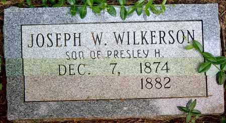 WILKERSON, JOSEPH W. - Sharp County, Arkansas | JOSEPH W. WILKERSON - Arkansas Gravestone Photos