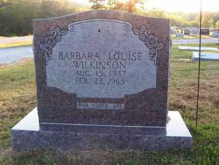 WILKINSON, BARBARA LOUISE - Sharp County, Arkansas | BARBARA LOUISE WILKINSON - Arkansas Gravestone Photos