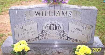 WILLIAMS, BILL G. - Sharp County, Arkansas | BILL G. WILLIAMS - Arkansas Gravestone Photos