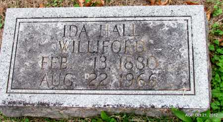 HALL WILLIFORD, IDA - Sharp County, Arkansas | IDA HALL WILLIFORD - Arkansas Gravestone Photos