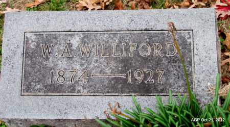 "WILLIFORD, WILLIAM A ""W A"" - Sharp County, Arkansas 