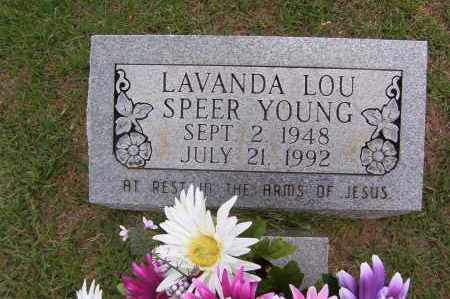 YOUNG, LAVANDA LOU - Sharp County, Arkansas | LAVANDA LOU YOUNG - Arkansas Gravestone Photos