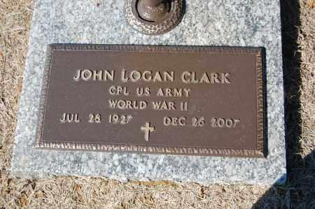 CLARK  (VETERAN WWII), JOHN LOGAN - St. Francis County, Arkansas | JOHN LOGAN CLARK  (VETERAN WWII) - Arkansas Gravestone Photos