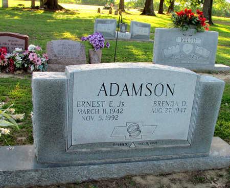 ADAMSON, JR, ERNEST E - St. Francis County, Arkansas | ERNEST E ADAMSON, JR - Arkansas Gravestone Photos