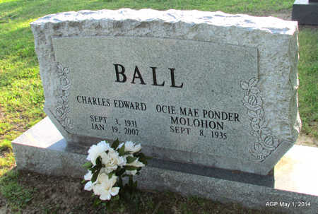 BALL, CHARLES EDWARD - St. Francis County, Arkansas | CHARLES EDWARD BALL - Arkansas Gravestone Photos