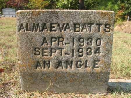BATTS, ALMA EVA - St. Francis County, Arkansas | ALMA EVA BATTS - Arkansas Gravestone Photos