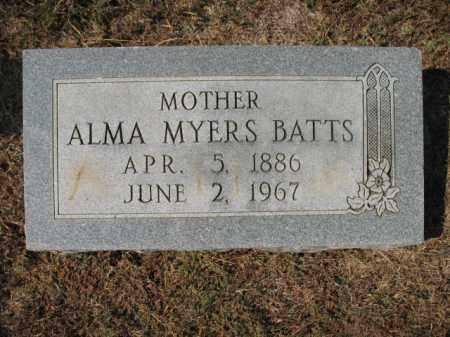 BATTS, ALMA - St. Francis County, Arkansas   ALMA BATTS - Arkansas Gravestone Photos